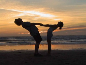 Partner Yoga for Beginners and Partner Yoga DVDs and Videos