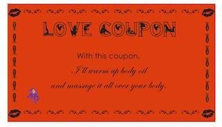Love Coupons •Romantic Date Ideas & Yoga Classes