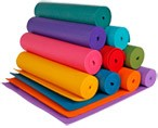 How to Choose a Yoga Mat; a guide to Eco-friendly, standard, custom.